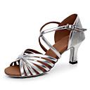 hesapli LED Sürücü-Kadın's Latin Dans Ayakkabıları / Salsa Ayakkabıları / Samba Ayakkabıları Yapay Deri Sandaletler Işıltılı Pullar / Toka Kişiye Özel