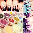 cheap Nail Glitter-12pcs nail diy nail jewelry tools