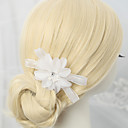 cheap Party Headpieces-Chiffon Rhinestone Alloy Hair Combs 1 Wedding Special Occasion Headpiece