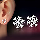 cheap Earrings-Women's Stud Earrings - Sterling Silver Silver Ladies Classic Jewelry Silver For Wedding Party Daily