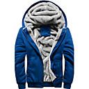 ieftine Ceas inel-Bărbați Capișon Jachetă Modern - Culoare solidă