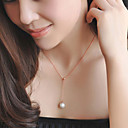 cheap Jewelry Sets-Women's Necklace - Imitation Pearl Gold Necklace For Wedding, Party, Special Occasion / Anniversary / Engagement / Gift / Daily