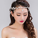 cheap Party Headpieces-Alloy Headbands Headwear with Floral 1pc Wedding Special Occasion Headpiece