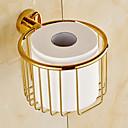 billige Loddejern & tilbehør-Toiletrulleholder Moderne Messing 1 stk - Hotel bad