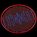 رخيصةأون أضواء تكبر  LED-1000 lm تزايد المصابيح الكهربائية 800 الأضواء أزرق أحمر أس 85-265V