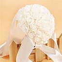 """cheap Wedding Flowers-Wedding Flowers Bouquets Wedding Party / Evening Crystal Rhinestone Satin Foam 10.63""""(Approx.27cm)"""