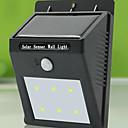 hesapli LED Ampuller-yüksek kaliteli güneş 6 ışık su geçirmez insan vücudu indüksiyon lamba / duvar lambası / bahçe avlusu açık lamba led