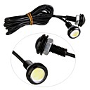 cheap Daytime Running Lights-2pcs Car Light Bulbs 3W Daytime Running Light For universal