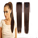 preiswerte Haarteil-Cross Type Pferdeschwanz Synthetische Haare Haarstück Haar-Verlängerung Glatt