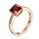 baratos Anéis-Cristal / Ruby Sintético / Diamante sintético Anel de declaração / Anel de Compromisso - Imitações de Diamante Vintage, Festa, Casual Para
