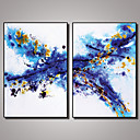 cheap Prints-Photographic Print Canvas Print Abstract Leisure Photographic Pop Art Two Panels Vertical Print Wall Decor Home Decoration