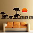 preiswerte Wand-Sticker-Landschaft Tiere Romantik Mode Formen Feiertage Cartoon Design Fantasie Botanisch Wand-Sticker Flugzeug-Wand Sticker Dekorative Wand