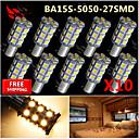 cheap Car Tail Lights-SO.K 10pcs Car Light Bulbs 150 lm Interior Lights