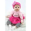 ราคาถูก Reborn Dolls-NPKCOLLECTION ตุ๊กตา NPK Reborn Dolls เด็กทารก 22 inch ซิลิโคน ไวนิล - ทารกแรกเกิด เหมือนจริง น่ารัก ทำด้วยมือ Child Safe Non Toxic เด็ก เด็กผู้หญิง Toy ของขวัญ / CE / โทนผิวธรรมชาติ / ขนตาปลอมมือ