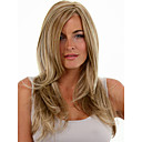 cheap Synthetic Capless Wigs-Synthetic Wig Straight Blonde Synthetic Hair Blonde Wig Women's Medium Length Capless Blonde