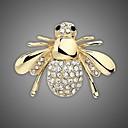 ieftine Brățări la Modă-Pentru femei Broșe - Ștras, Placat Auriu Stilat, Modă Broșă Argintiu / Auriu Pentru Nuntă / Petrecere / Zilnice