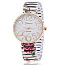 cheap Rings-Xu™ Women's Quartz Wrist Watch Casual Watch Alloy Band Charm Fashion Black White Green Pink