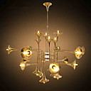 cheap Chandeliers-5 Tiffany / Country Mini Style Electroplated Metal Chandeliers Living Room / Bedroom / Dining Room / Game Room