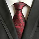 baratos Acessórios Masculinos-Homens Luxo Estampado Clássico Festa Casamento Gravata - Fashion Criativo