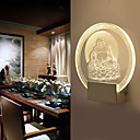 رخيصةأون إضاءة عصرية-الحديثة / المعاصرة إضاءات معلقة زجاج إضاءة الحائط 220V / 110V 0.5W