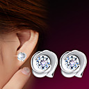 cheap LED Spot Lights-Women's Stud Earrings - Sterling Silver, Silver For Wedding Party Daily