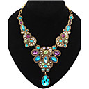 cheap Necklaces-Women's Statement Necklace - Drop Luxury, European, Elegant Blue Necklace For Party, Special Occasion, Congratulations