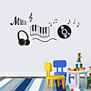 cheap Wall Stickers-Decorative Wall Stickers - 3D Wall Stickers Animals People Still Life Romance Fashion Shapes Vintage Holiday Cartoon Leisure Fantasy