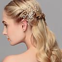 abordables Tocados de Fiesta-Perla Para la Cabeza / Pin de pelo con Flor 1pc Boda / Ocasión especial / Casual Celada