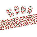 preiswerte Nagel Strass & Dekorationen-10PCS Glitzer Nagelfolie Striping Tape Nagel Kunst Maniküre Pediküre lieblich Zeichentrick / Modisch Alltag / Folien-Abziehband