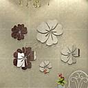 preiswerte Wand-Sticker-Tiere Menschen Stillleben Romantik Mode Formen Retro Feiertage Cartoon Design Freizeit Fantasie Wand-Sticker Spiegel Wandsticker