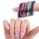 ieftine folie de hârtie-10 pcs Abstract / Modă 3D pentru autocolante / Foil Stripping Tape / Alte decoratiuni Zilnic
