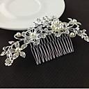 billige Festhovedtøj-Legering Hair Combs / Hårværktøj med 1 Bryllup / Speciel Lejlighed Medaljon