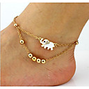cheap Hair Jewelry-Anklet / Body Chain Unique Design, Fashion Women's Gold Body Jewelry For Daily / Casual
