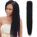 cheap Hair Braids-Braiding Hair Havana Twist Braids Synthetic Hair 1pc / pack, 2 Roots Hair Braids