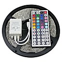 cheap LED Strip Lights-5m RGB Strip Lights 300 LEDs 5050 SMD RGB Remote Control / RC / Cuttable / Self-adhesive 12 V / Color-Changing