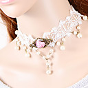 cheap Necklaces-Women's Choker Necklace / Torque / Gothic Jewelry - Lace Gothic White Necklace For Wedding, Party, Daily