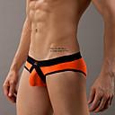 baratos Moda Íntima Exótica para Homens-Homens Ultra Sexy Estampa Colorida Cintura Baixa