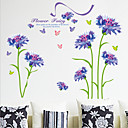 cheap Wall Stickers-Decorative Wall Stickers - Plane Wall Stickers Florals Living Room / Bedroom / Dining Room