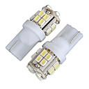 cheap Car Signal Lights-2pcs T10 Car Light Bulbs 4W SMD 1012 340lm 20 Decorative Lamp / License Plate Light / Reading Light