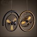 preiswerte Waschschalen und Aufsatz-Waschbecken-3-Licht Pendelleuchten Deckenfluter Lackierte Oberflächen Metall Ministil 110-120V / 220-240V Wärm Weiß Glühbirne nicht inklusive / FCC / VDE / E26 / E27