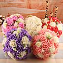 """baratos Bouquets de Noiva-Bouquets de Noiva Buquês Casamento Espuma 9.45""""(Aprox.24cm)"""