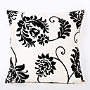 cheap Pillow Covers-1 pcs Polyester Pillow Cover, Floral Accent/Decorative