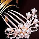preiswerte Parykopfbedeckungen-Künstliche Perle Haarkämme / Haar-Werkzeug mit 1 Hochzeit / Besondere Anlässe / Normal Kopfschmuck