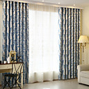 cheap Sheer Curtains-Blackout Curtains Drapes Kids Room Polyester Jacquard