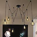 halpa LED-lamput-6-Light Riipus valot Tunnelmavalo - suunnittelijat, 110-120V / 220-240V Polttimo ei ole mukana toimitksessa / 15-20㎡ / E26 / E27