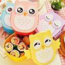 ieftine Borcane și cutii-Organizarea bucătăriei Cutii de Prânz Plastic Uşor de Folosit 1 buc