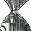 baratos Acessórios Masculinos-Homens Festa/Noite Estilo Formal Luxo Quadriculado Escritório/Negócio Gravata - Fashion Criativo