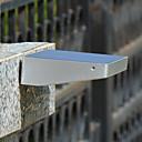 preiswerte Bahn Lichter-1 Stück Dekorations Beleuchtung / LED-Solarleuchten Solar / Batterie Sensor / Wiederaufladbar / Wasserfest