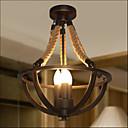 cheap Ceiling Lights-3-Light Flush Mount Uplight Painted Finishes Metal Mini Style 110-120V / 220-240V Warm White Bulb Not Included / E12 / E14 / FCC / VDE
