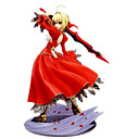 billige Anime actionfigurer-Anime Action Figurer Inspirert av Fate/Stay Night Saber PVC 23 CM Modell Leker Dukke